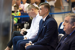 July 23, 2018 - Madrid, Spain - Andriy Lunin during his presentation as new Real Madrid goalkeeper at Santiago Bernabéu Stadium in Madrid, Spain. July 23, 2018. (COOLMEDIA/BorjaB.Hojas) (Credit Image: © Coolmedia/NurPhoto via ZUMA Press)