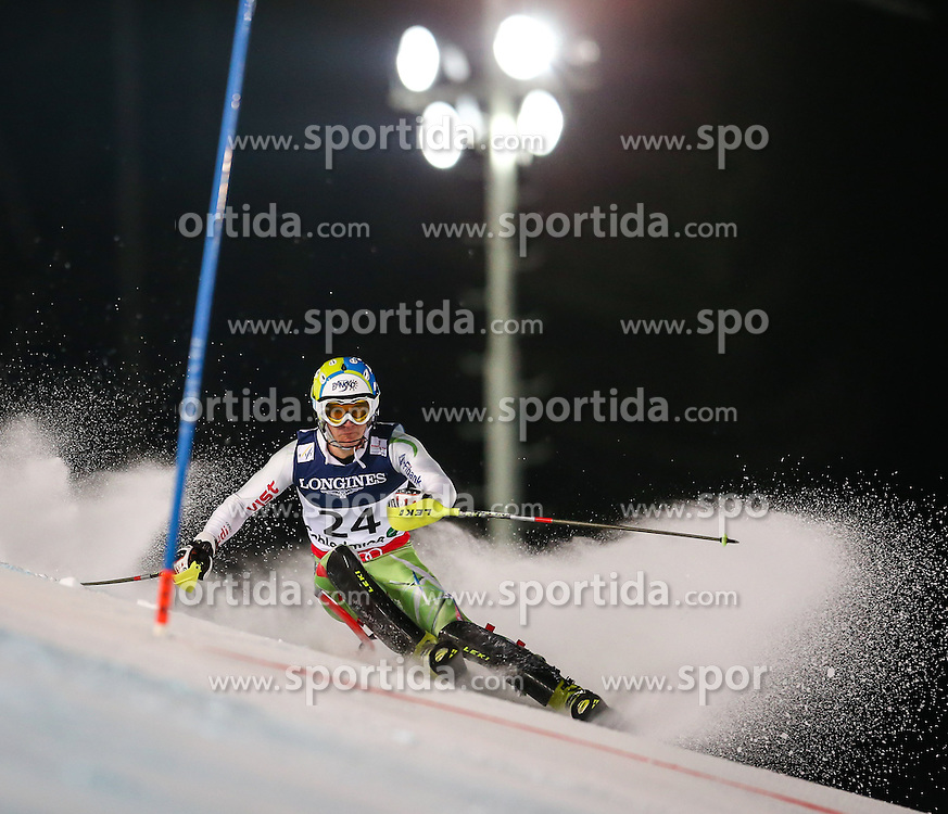 11.02.2013, Planai, Schladming, AUT, FIS Weltmeisterschaften Ski Alpin, Super Kombination, Slalom, Herren, im Bild  Nikola Chongarov (BUL) // Nikola Chongarov of Bulgaria  in action during Mens Super Combined Slalom at the FIS Ski World Championships 2013 at the Planai Course, Schladming, Austria on 2013/02/11. EXPA Pictures © 2013, PhotoCredit: EXPA/ Johann Groder