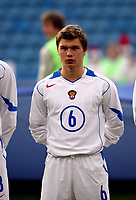 Fotball, 28. april 2004, Privatlandskamp, Norge-Russland 3-2, Marat Izmailov, Russland, portrett