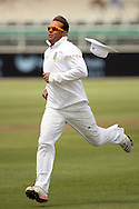 Jacques Kallis chases a ball to the boundary during Day 2 of the Sunfoil Test Series between South Africa and Australia played at Sahara Park Newlands, Cape Town, South Africa on the 10th November2011. Photo by Jacques Rossouw/SPORTZPICS