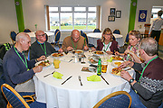 VIP diners  during the EFL Sky Bet League 2 match between Forest Green Rovers and Yeovil Town at the New Lawn, Forest Green, United Kingdom on 16 February 2019.