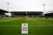 Craven Cottage Stadium during the EFL Sky Bet Championship match between Fulham and Barnsley at Craven Cottage, London, England on 23 December 2017. Photo by Andy Walter.