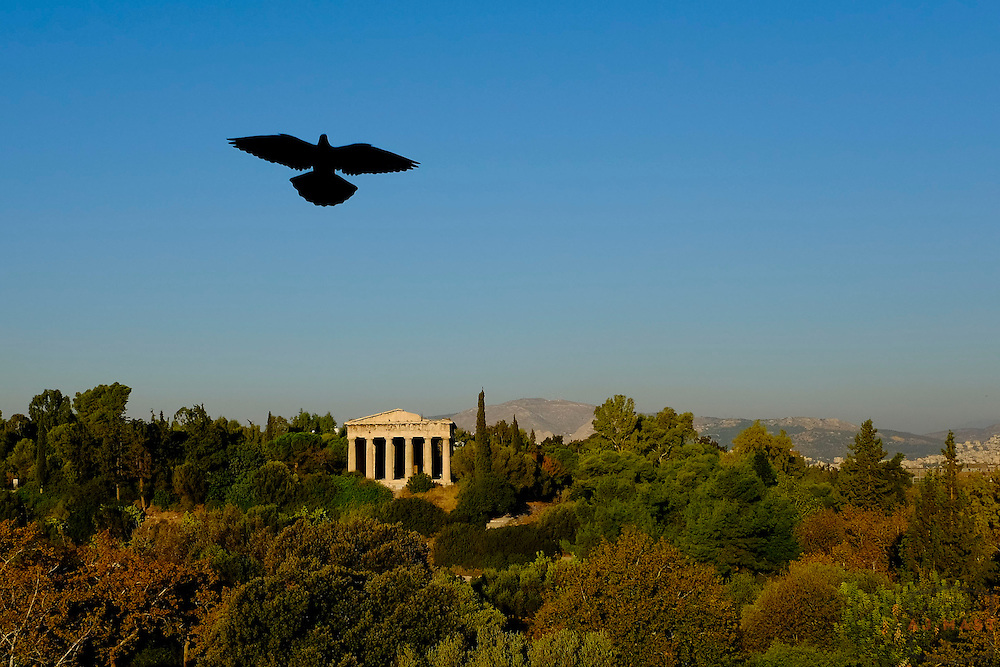 Ancient Agora of Athens Greece Wednesday, Oct. 25, 2013. (Photo By AJ Mast)