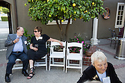 San Jose State University's Heritage Society hosts its annual President's Reception at San Jose State University President Mohammed Qayoumi's home in San Jose, California, on June 4, 2015. (Stan Olszewski/SOSKIphoto)
