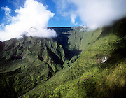 Wettest spot on earth, Mt. Waialeale, Kauai, Hawaii