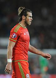 Gareth Bale of Wales - Mandatory byline: Dougie Allward/JMP - 07966 386802 - 13/10/2015 - FOOTBALL - Cardiff City Stadium - Cardiff, Wales - Wales v Andorra - European Qualifier 2016 - Group B
