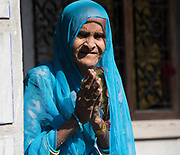 Old woman from Rajasthan.