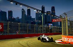 September 15, 2018 - Singapore, Singapore - Motorsports: FIA Formula One World Championship 2018, Grand Prix of Singapore, .#35 Sergey Sirotkin (RUS, Williams Martini Racing) (Credit Image: © Hoch Zwei via ZUMA Wire)