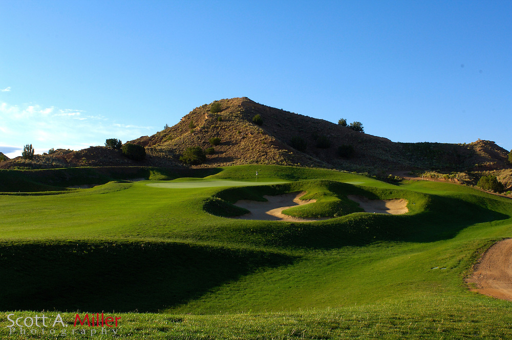 Espanola, N.M.:  July 10, 2006 -  No. 12 on Black Mesa Golf Club in Espanola, N.M...                ©2006 Scott A. Miller