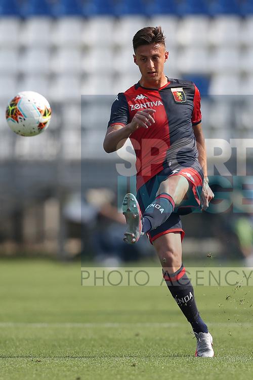 Genoa's Italian defender Antonio Barreca during the Serie A match at Stadio Mario Rigamonti, Brescia. Picture date: 27th June 2020. Picture credit should read: Jonathan Moscrop/Sportimage