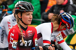 WORST Annemarie (NED) at the start of Women Elite race, 2019 UCI Cyclo-cross World Cup Heusden-Zolder, Belgium, 26 December 2019.<br /> <br /> Photo by Pim Nijland / PelotonPhotos.com <br /> <br /> All photos usage must carry mandatory copyright credit (Peloton Photos | Pim Nijland)
