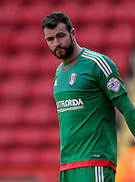 Fulham goalkeeper Andy Lonergan
