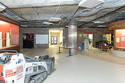Central High School Bridgeport CT Expansion & Renovate as New. State of CT Project # 015-0174. One of 80 Photographs of Progress Submission 17, 30 June 2016. School Lobby at Entrance.