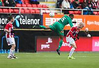 FotballFørstedivisjonTromsø IL vs HamKam27.04.2014Aziz Idris, HamKamZdenek Ondrasek, TromsøMorten Moldskred, Tromsø