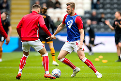 Adam Webster of Bristol City warms up - Mandatory by-line: Robbie Stephenson/JMP - 05/05/2019 - FOOTBALL - KCOM Stadium - Hull, England - Hull City v Bristol City - Sky Bet Championship