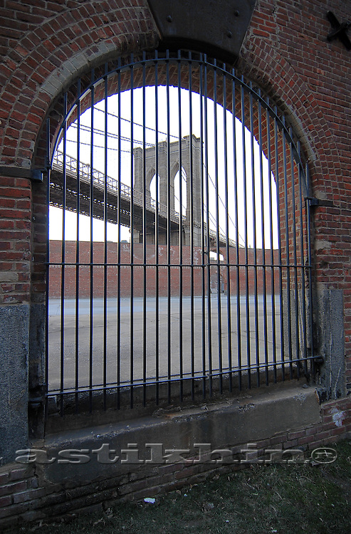Gate in Brooklyn
