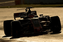 March 10, 2017 - Barcelona, Barcelona, Spain - Kevin Magnussen of Denmark driving the (20) Haas F1 Team Haas-Ferrari VF-17 Ferrari  in action during the Formula One winter testing at Circuit de Catalunya on March 10, 2017 in Montmelo, Spain. (Credit Image: © Dpi/NurPhoto via ZUMA Press)