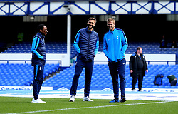 Kyle Walker-Peters, Eric Dier and Fernando Llorente of Tottenham Hotspur - Mandatory by-line: Robbie Stephenson/JMP - 09/09/2017 - FOOTBALL - Goodison Park - Liverpool, England - Everton v Tottenham Hotspur - Premier League