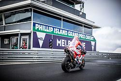October 21, 2017 - Phillip Island, Australie - ANDREA DOVIZIOSO - ITALIAN - DUCATI TEAM - DUCATI (Credit Image: © Panoramic via ZUMA Press)