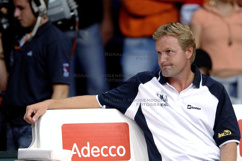 23-09-2006 TENNIS: DAVIS CUP: NEDERLAND - TSJECHIE: LEIDEN <br /> Davis Cup coach Tjerk Bogtstra<br /> ©2006-WWW.FOTOHOOGENDOORN.NL
