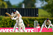 Markus Labuschagne of Glamorgan batting during the Specsavers County Champ Div 2 match between Middlesex County Cricket Club and Glamorgan County Cricket Club at Radlett Cricket Ground, Radlett, Herfordshire,United Kingdom on 17 June 2019.