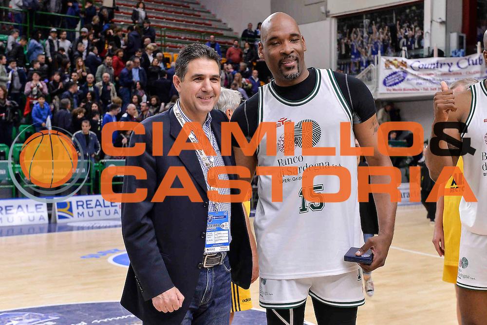 DESCRIZIONE : Dinamo Banco di Sardegna Sassari All Stars Legends Night<br /> GIOCATORE : George Banks<br /> CATEGORIA : Ritratto<br /> SQUADRA : Dinamo Banco di Sardegna Sassari<br /> EVENTO : Dinamo Banco di Sardegna Sassari All Stars Legends Night<br /> GARA : Dinamo Banco di Sardegna Sassari - Alba Berlino Veterans<br /> DATA : 14/05/2016<br /> SPORT : Pallacanestro <br /> AUTORE : Agenzia Ciamillo-Castoria/L.Canu