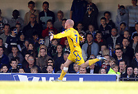 Photo: Ashley Pickering.<br />Southend United v Leicester City. Coca Cola Championship. 03/03/2007.<br />Iain Hume of Leicester celebrates his goal (0-1)