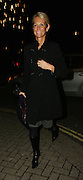 17.JANUARY.2007. LONDON<br /> <br /> **EXCLUSIVE PICTURES**<br /> <br /> ULRIKA JOHNSON ARRIVING AT NOBU RESTAURANT, PARK LANE WITH NO MAKE UP ON AND WITH A BIG SPOT ON HER CHIN IT MUST BE ALL THE HARD WORK TRAINING FOR DANCING ON ICE.<br /> <br /> BYLINE: EDBIMAGEARCHIVE.CO.UK<br /> <br /> *THIS IMAGE IS STRICTLY FOR UK NEWSPAPERS AND MAGAZINES ONLY*<br /> *FOR WORLD WIDE SALES AND WEB USE PLEASE CONTACT EDBIMAGEARCHIVE - 0208 954 5968*