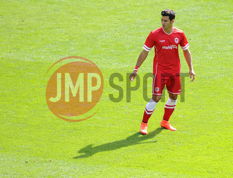 Cardiff City's Javi Guerra - Photo mandatory by-line: Joe Meredith/JMP - Mobile: 07966 386802 02/08/2014 - SPORT - FOOTBALL - Cardiff - Cardiff City Stadium - Cardiff City v VfL Wolfsburg - Pre-Season Friendly