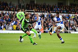 Ellis Harrison of Bristol Rovers takes a shot at goal - Mandatory by-line: Dougie Allward/JMP - 30/09/2017 - FOOTBALL - Memorial Stadium - Bristol, England - Bristol Rovers v Plymouth Argyle - Sky Bet League One