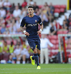 Southampton's Jose Fonte - Photo mandatory by-line: Joe Meredith/JMP - Mobile: 07966 386802 21/07/2014 - SPORT - FOOTBALL - Swindon - County Ground - Swindon Town v Southampton