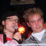 NLD/Amsterdam/20080426 - Uitreiking 3FM Awards 2008, Giel Beelen en Boer Frans