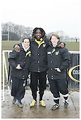 London Wasps CoachClass at Amersham & Chiltern RFC. 15-2-2010. Pics with Paul Sackey.
