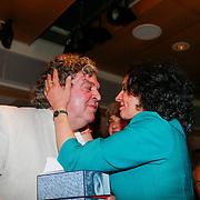 NLD/Den Haag/20130530- Uitreiking P.C. Hooft-prijs 2013 aan A. F. Th. van der Heijden, en partner Mirjam Rotenstreich