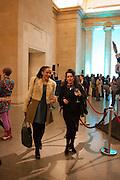 EDITH MARIE PASQUIER; ZINEB SEDIRA, Migrations private view, Tate Britain. London. 30 January 2012.