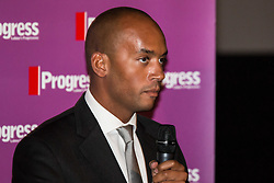 © Hugo Michiels Photography. Brighton, UK. Streatham MP Chuka Umunna at the Brighton Labour conference 2015 Progress rally. Photo Credit: Hugo Michiels