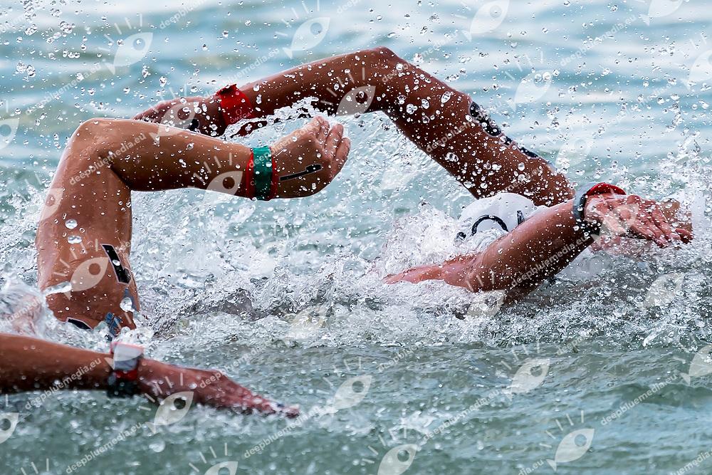 Athletes <br /> Women's 10Km <br /> Open Water Swimming Balatonfured<br /> Day 03  16/07/2017 <br /> XVII FINA World Championships Aquatics<br /> Lake Balaton Budapest Hungary  <br /> Photo Andrea Staccioli/Deepbluemedia/Insidefoto