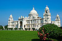 Inde, Bengale Occidental, Calcutta (Kolkata), Queen Victoria Memorial // India, West Bengal, Kolkata, Calcutta, Chowringhee, Victoria Memorial