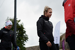 Emma Norsgaard Jorgensen (DEN) at Ladies Tour of Norway Team Presentation 2018, in Halden, Norway on August 15, 2018. Photo by Sean Robinson/velofocus.com