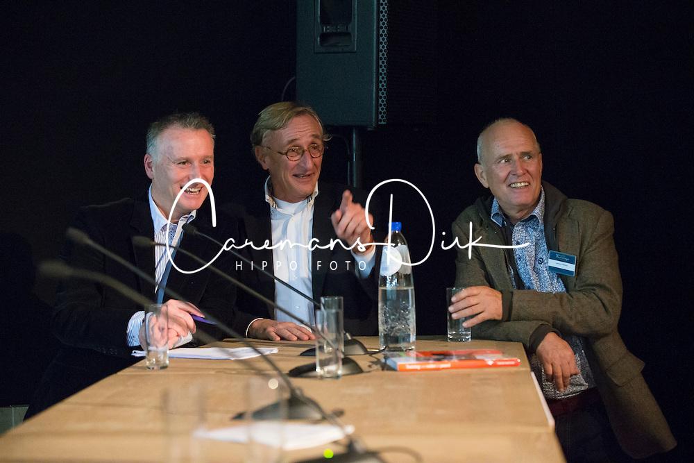 David Hunt, Joep Bartels, Lammert Haanstra<br /> Global Dressage Forum - Academy Bartels <br /> Hooge Mierde 2012<br /> &Acirc;&copy; Dirk Caremans