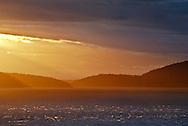 San Juan Sunset - Washington Park, Anacortes, Washington