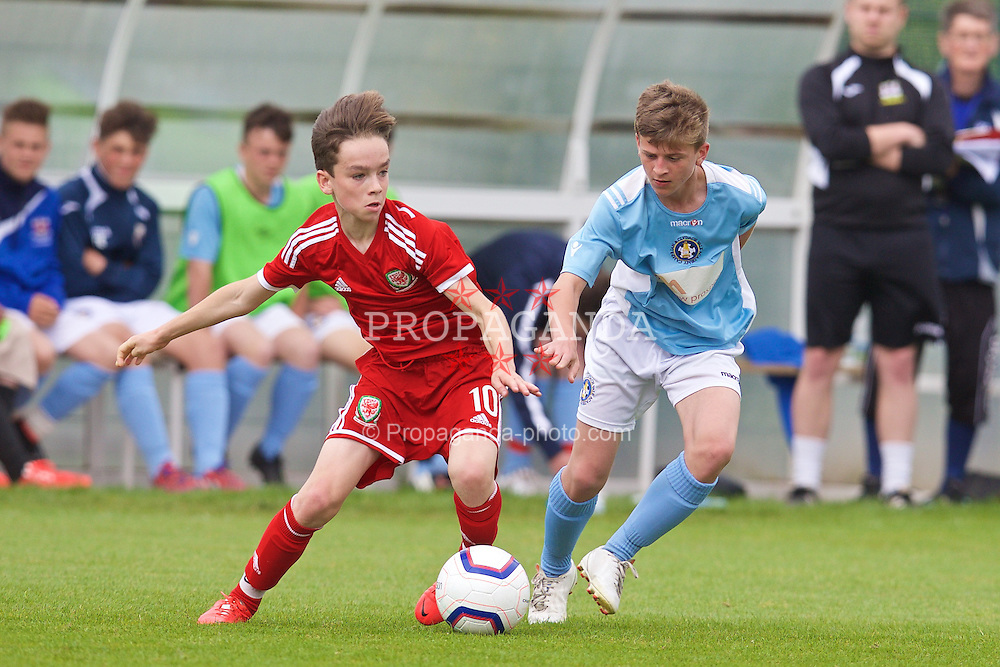 NEWPORT, WALES - Wednesday, May 27, 2015: Regional Development Boys' Toby Maguire during the Welsh Football Trust Cymru Cup 2015 at Dragon Park. (Pic by David Rawcliffe/Propaganda)