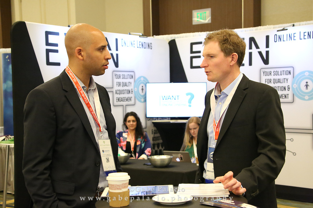 LendIt USA 2016 conference in San Francisco, California, USA on April 11, 2016. (photo by Evans Vestal Ward)