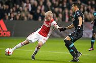 18-12-2016: Voetbal: Ajax v PSV: Amsterdam<br /> <br /> (L-R) Ajax speler Davy Klaassen tijdens het Eredivisie duel tussen Ajax en PSV op 18 december in De Arena tijdens speelronde 17<br /> <br /> Eredivisie - Seizoen 2016 / 2017<br /> <br /> Foto: Gertjan Kooij