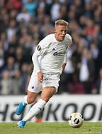 Viktor Fischer (FC København) under kampen i UEFA Europa League mellem FC København og FC Lugano den 19. september 2019 i Telia Parken (Foto: Claus Birch).
