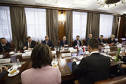 March 21, 2019 - Denis Manturov: Talking about transport engineering, not to mention successfully completed the project of modernization of the Budapest metro. On the results completed in may 2018 overhaul put into operation 37 trains  MIT Russia via globallookpress.com (Credit Image: © Russian Look via ZUMA Wire)