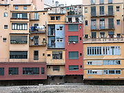 Spanish housing project, Girona, Catlania, Spain September 2004
