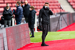 Ed Lewis looks on during a friendly match before the Premier League and Championship resume after the Covid-19 mid-season disruption - Rogan/JMP - 12/06/2020 - FOOTBALL - St Mary's Stadium, England - Southampton v Bristol City - Friendly.