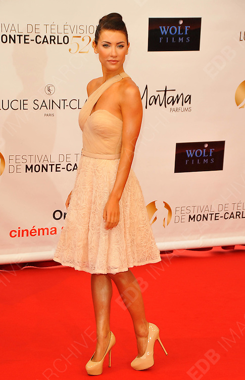 10.JUNE.2012. MONACO<br /> <br /> JACQUELINE MAC INNES WOOD ATTENDS THE OPENING CEREMONY OF THE 52ND MONTE CARLO TELEVISION FESTIVAL HELD AT THE GRAMALDI FORUM.  <br /> <br /> BYLINE: EDBIMAGEARCHIVE.CO.UK<br /> <br /> *THIS IMAGE IS STRICTLY FOR UK NEWSPAPERS AND MAGAZINES ONLY*<br /> *FOR WORLD WIDE SALES AND WEB USE PLEASE CONTACT EDBIMAGEARCHIVE - 0208 954 5968*
