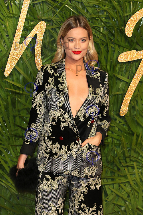 Laura Whitmore, The Fashion Awards 2017, The Royal Albert Hall, London UK, 04 December 2017, Photo by Richard Goldschmidt